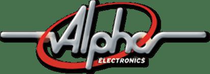 Alpha Electronics Company logo