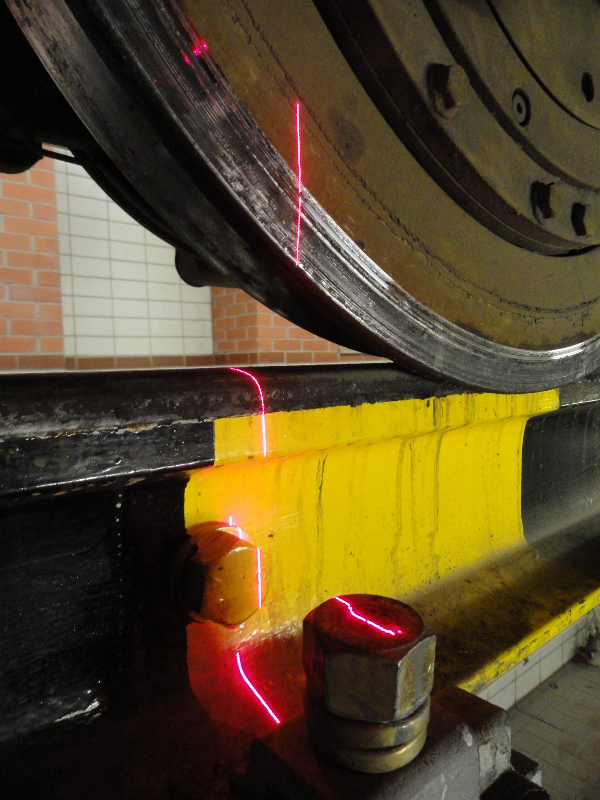 Deutzer Technische Kohle Rail Track Alignment