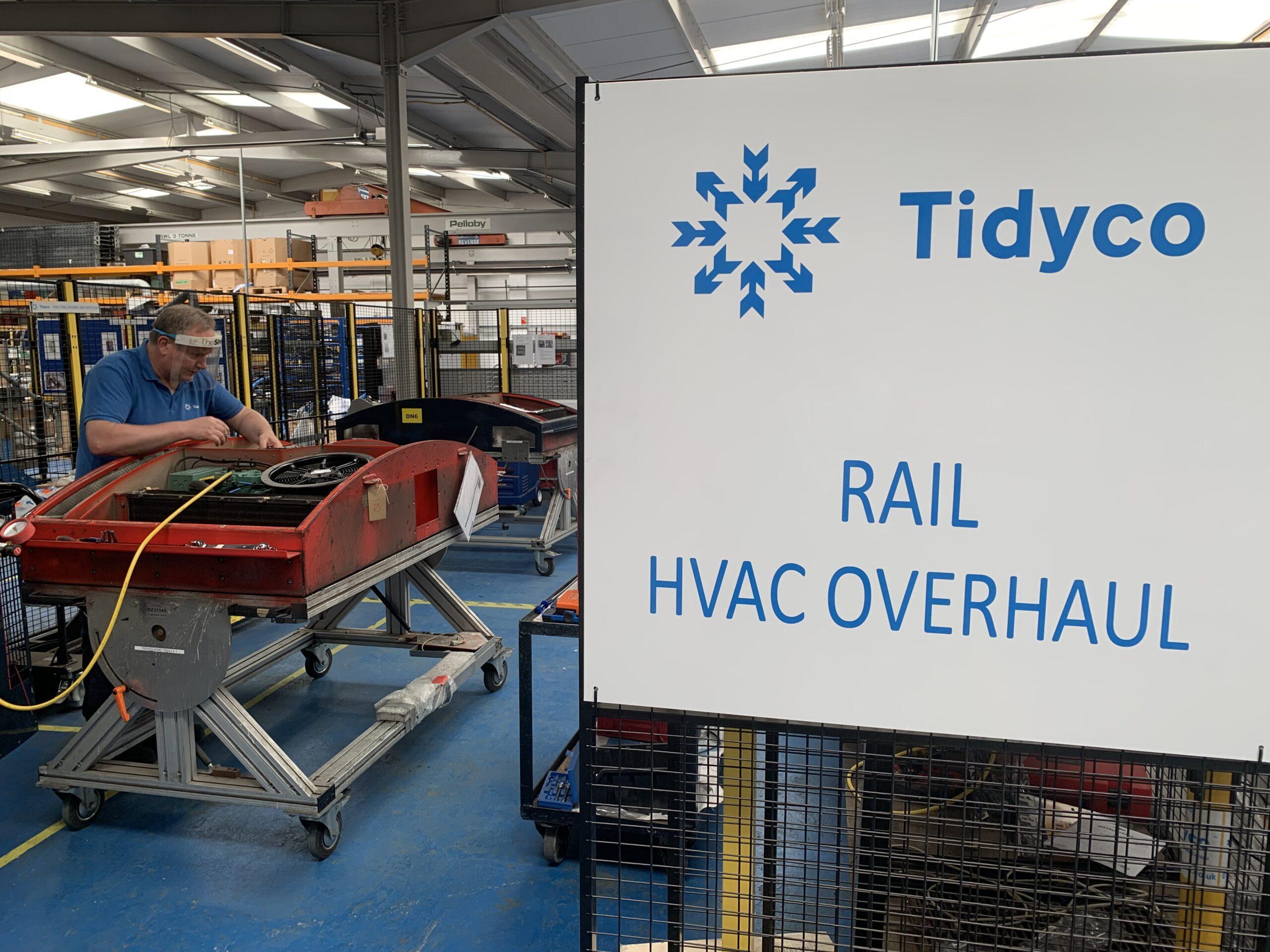tidyco rail HVAC overhaul