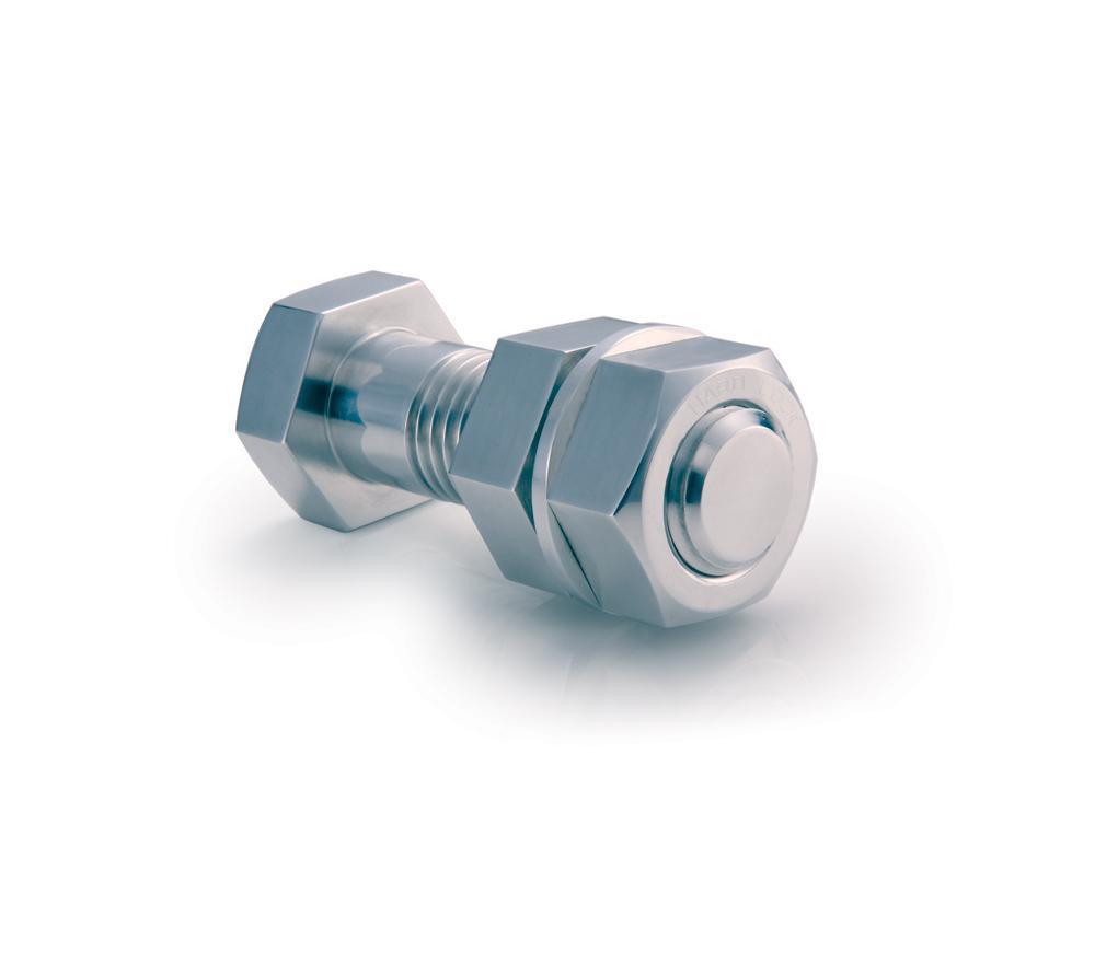 Staytite product hardlock nut on bolt