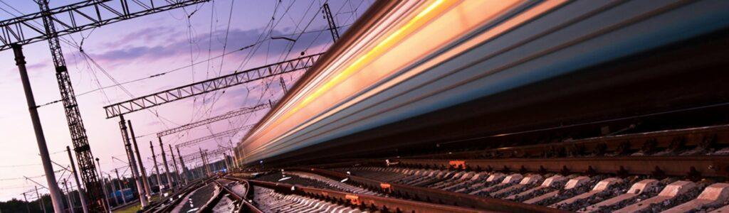 Anderton Concrete train moving on track