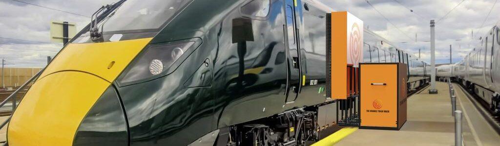 The Orange Train Wash product visual cleaning train