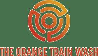 The Orange Train Wash Company Logo